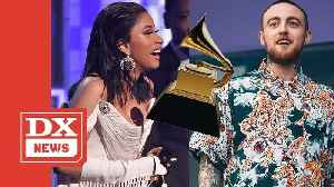 Cardi B Dedicates History-Making Grammy To The Late Mac Miller [Video]