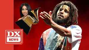 J. Cole Says Seeing Cardi B Win A Grammy Made Him Feel Like He Won [Video]