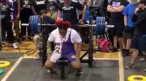 15-Year-Old Mahailya Reeves Bench Pressed A Record-Breaking 360 Pounds [Video]