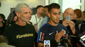 Freed Bahraini footballer lands in Australia [Video]