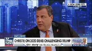 News video: Chris Christie invokes opioid deaths as Kamala Harris champions legalized pot
