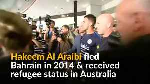 Australia welcomes refugee Bahraini footballer [Video]