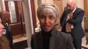 Rep. Ilhan Omar responds, sort of, to question about her anti-Semitic comments [Video]