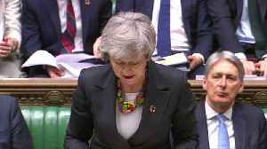 May to parliament: We need to 'hold our nerve' over Brexit [Video]