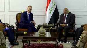 Acting Pentagon chief makes unannounced visit to Baghdad [Video]