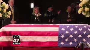 Funeral for John Dingell scheduled for 11 a.m. Tuesday [Video]