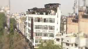 At Least 17 Dead After Fire Breaks Out In New Delhi Hotel [Video]