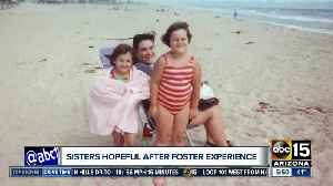 Sisters hopeful after foster care experience [Video]