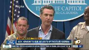 Newsom to deliver first State of the State address [Video]
