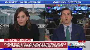 MSNBC panel skeptical of Senate Intel Committee report of no collusion [Video]