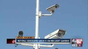 Campaign promise by Tampa mayoral candidate would ban red light cameras in the city [Video]