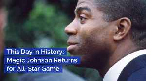 Remembering Magic Johnson's Historic Return To The All Star Game [Video]