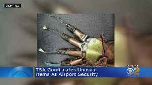 TSA Reveals Unusual Items Found At Airports [Video]