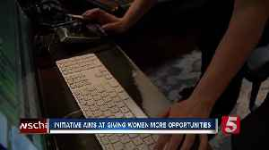 New initiative aims at getting women