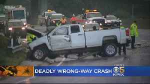 Car Went Several Miles In Wrong Direction Before Fatal Wrong-Way Crash In Pacifica [Video]