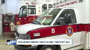 How 'Fair Play' bill would change volunteer fire departments [Video]