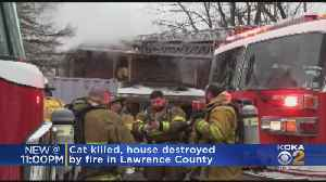 Family's Home Goes Up In Flames In Lawrence County [Video]