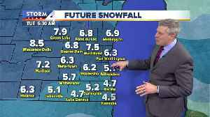 Snow continues into the morning commute [Video]