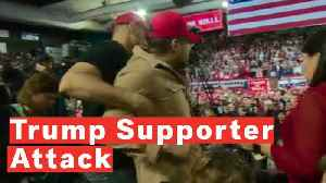 News video: 'F*** The Media': Trump Supporter Violently Attacks Cameraman At Rally