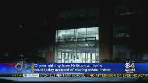 12-Year-Old Accused Of Threatening To Commit Murder, 'Shoot Up' School [Video]