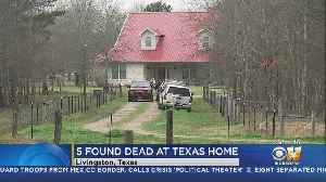 News video: 5 People, Including Baby, Found Shot To Death At Southeast Texas Home