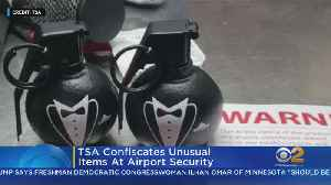 TSA Finds Unusual Items At LaGuardia, Newark Airports [Video]