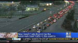New Report Finds Boston Has Worst Rush-Hour Traffic In The Country [Video]