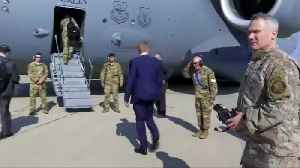 News video: Acting Pentagon chief makes unannounced visit to Baghdad