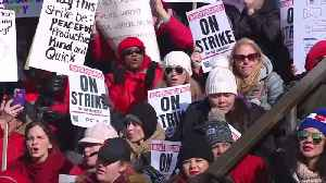 Denver teachers strike enters second day [Video]