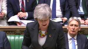 News video: May to parliament: We need to 'hold our nerve' over Brexit