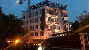 News video: New Delhi Hotel Fire: At Least 17 Dead