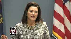 Whitmer to focus on magnitude of road problem in speech [Video]