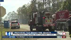 Clearing the way for fire season [Video]