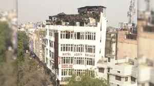 News video: At Least 17 Dead After Fire Breaks Out in New Delhi Hotel