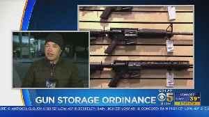 San Mateo County Considers Gun Storage Ordinance [Video]