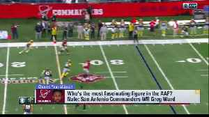 Who's the most fascinating figure in the Alliance of American Football? [Video]