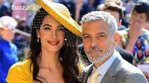 George Clooney Says Meghan Markle is Being 'Pursued and Vilified' in the Media Like Princess Diana [Video]