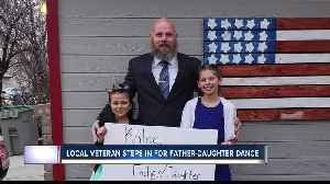Idaho veteran steps in for father-daughter dance [Video]