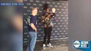 Shaquem Griffin shares sweet connection with young Seahawks fan during meet-and-greet [Video]