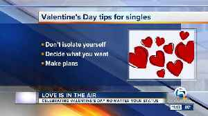 Valentine's Day tips for singles [Video]