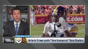 NFL Network's Ian Rapoport: Antonio Brown situation is still 'in the team's hands' [Video]