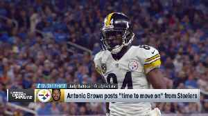 Judy Battista: Pittsburgh Steelers must decide whether Antonio Brown's talent is worth the distraction [Video]