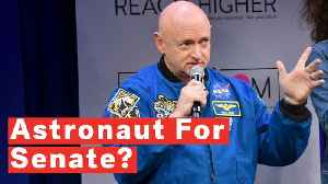 Retired NASA Astronaut Mark Kelly Announces 2020 Senate Candidacy [Video]