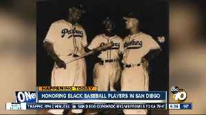 Honoring black baseball players in San Diego [Video]