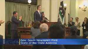 Gov. Newsom Delivers His First State Of The State Address [Video]