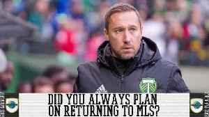 Did Caleb Porter Always Plan On Returning To The MLS? [Video]