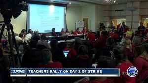 DCTA discusses latest counter-proposal made to DPS as teacher strike continues [Video]