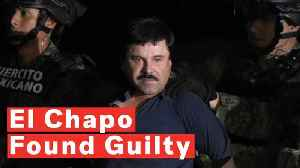 News video: Notorious Drug Lord 'El Chapo' Found Guilty And Faces Life In Prison Without Parole