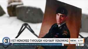 Section of Highway 33 to be named in veteran's honor [Video]