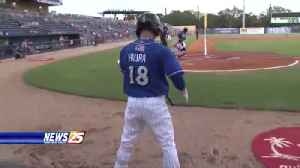 Former Shucker Keston Hiura turning heads [Video]